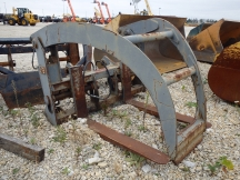 "JRB 76"" x 60"" Wheel Loader Grapple Forks"