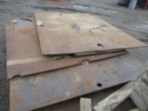 Steel Road Plates - 3 Available