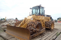 2006 Cat 815F Padfoot Roller