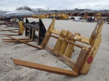 "2013 Cat 96"" x 60"" Wheel Loader Forks Balderson Coupler"