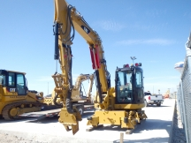2009 Cat 308D CR w/Rail Gear