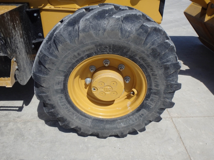 Used Cat Loader Backhoe 420f Rubber Tire W Hydraulic Thumb