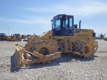 2008 Cat 815F Padfoot Roller