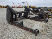 "Pemberton 106"" x 66"" Wheel Loader Pipe Clamp Forks"