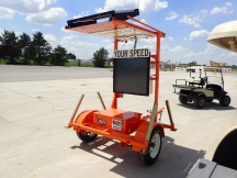 2018 Wanco Radar Speed Limit trailer