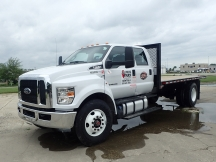 2018 Ford F750SD Flatbed
