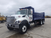 2018 International 7500 Tandem Dump