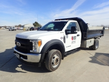 2017 Ford F450XL SD Dump