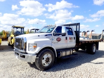 2017 Ford F750SD Flatbed