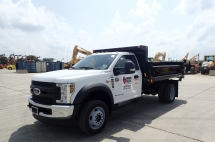 2018 Ford F550XL SD Dump