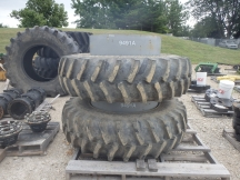 Firestone 18.4R38 Clamp on Duals