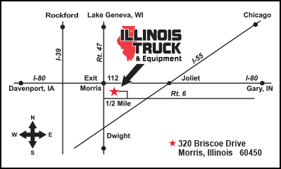 Morris Illinois Map