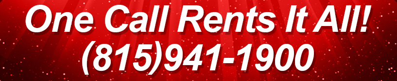 One Call Rents It All!